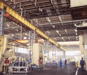 Solutii incalzire industriala hale depozitare, spatii productie