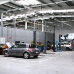 Solutii incalzire garaje service auto, spatii expozitionale