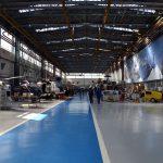 Proiect incalzire hale productie panouri radiante ceramice cladiri inalte Gama SX EUROCOPTER ROMANIA SA