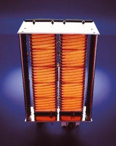 Panou ceramic radiant infrarosu