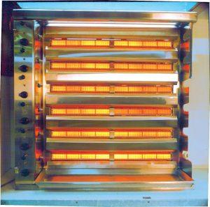 Arzatoarele ceramice pe gaz SBM de proces