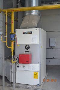 Generatoare aer cald interior