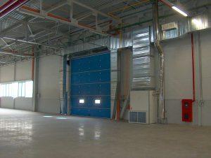 Generator aer cald interior