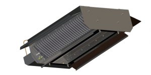 Panou radiant termocupla gama XLA-T cladiri cu inaltimi intre 3,5 si 5 m
