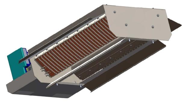 Panou radiant cu ionizare gama XLA-I cladiri cu inaltimi intre 3,5 si 5 m