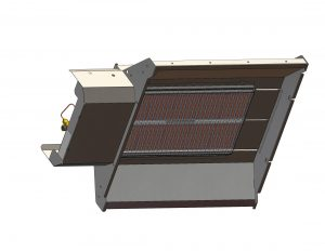 Panou radiant cu termocupla Gama XFR – factor de radiatie marit. SBM Franta
