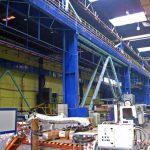 Proiect incalzire hale productie panouri radiante Alstom General Turbo SA