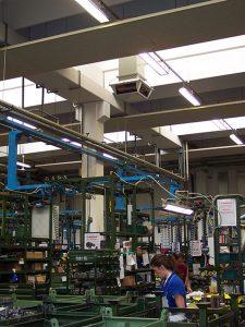 Racitor evaporativ fabrici ateliere
