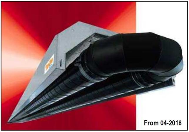 Tubulaturi radiante (benzi radiante) gama TUB-ONE