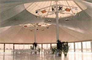 Solutie incalzire sala ballroom cu panouri radiante ceramice