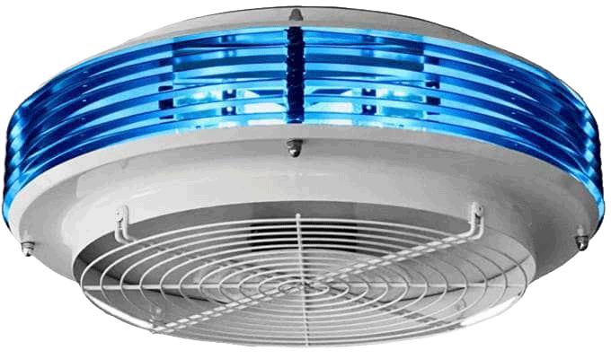 Purificare si igienizare aer cu lumina ultraviolet Eliturbo uv light