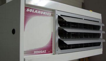 Aeroterme pe gaz elicoidale Solaronics